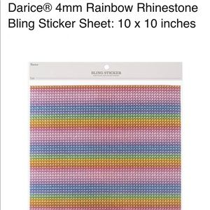 Rainbow sticker sheets. Pack of 20 for only $200!